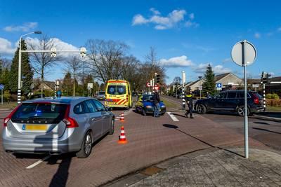 Fietsster raakt gewond bij ongeval in Teteringen