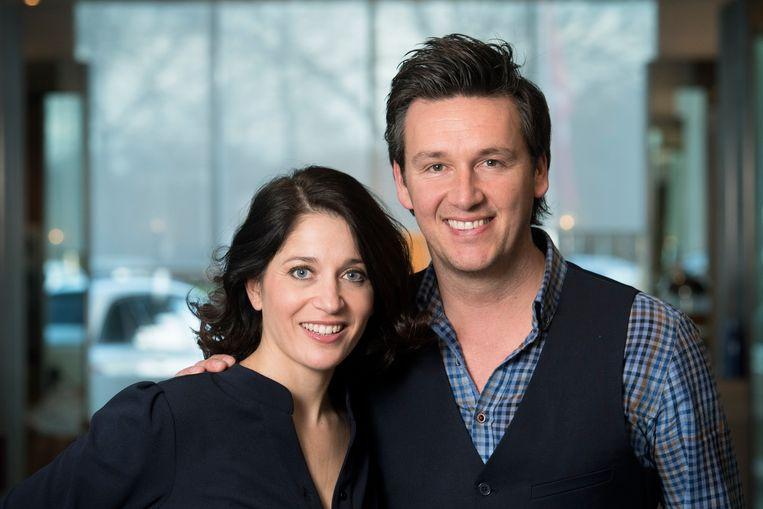 Sasha Rosen en partner  Davy Gilles