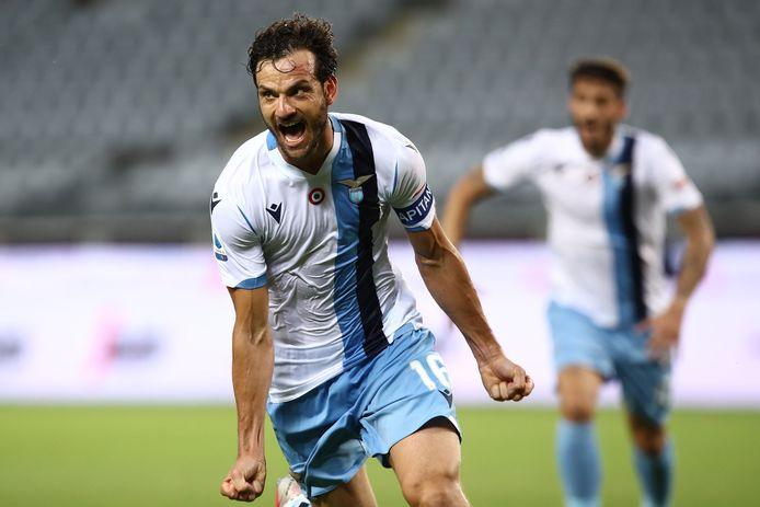 Marco Parolo scoorde de 1-2.