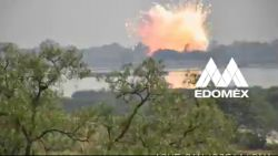 Spectaculaire ontploffing vuurwerkmagazijn in Mexico