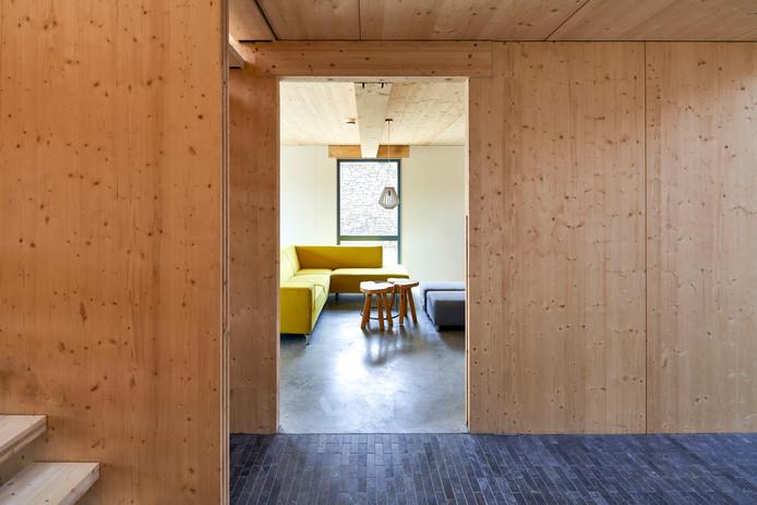 Fien Wonen wil bij nieuwbouwprojecten ook sociale huurwoningen bouwen van hout.