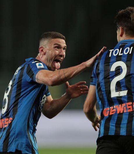 Atalanta nadert Lazio na late zege op Sampdoria
