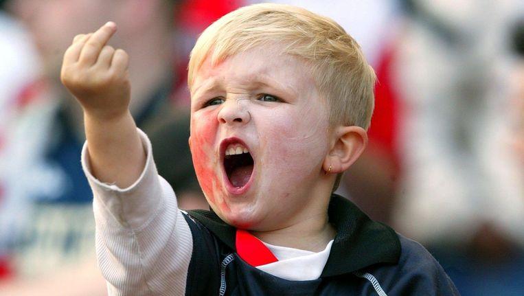 Bekende Feyenoord Peuter Is Ondertussen Flinke Tiener Time Out