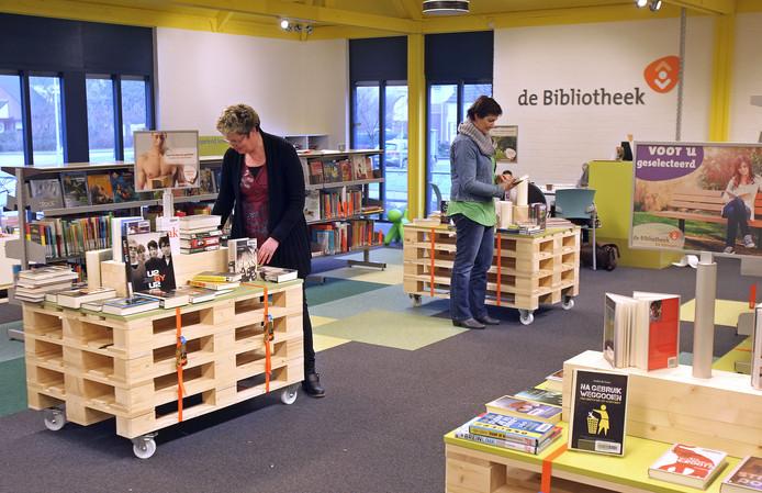 Bibliotheek in Maarheeze .