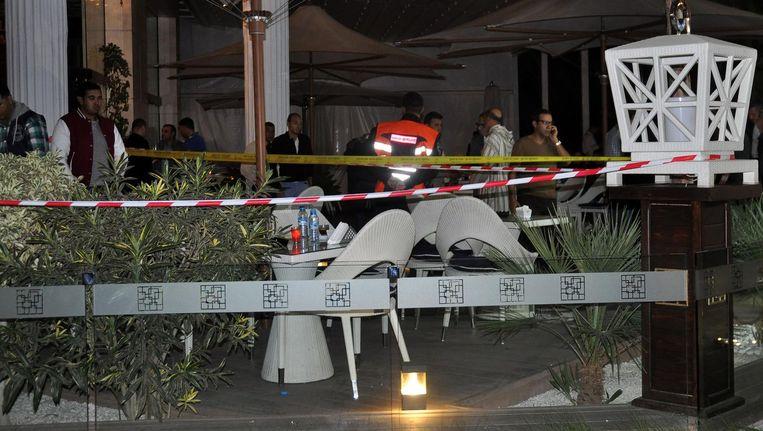 La Crème, waar donderdag een 26-jarige student werd doogeschoten Beeld ANP