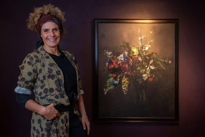 Kunstenaares Simone Theelen