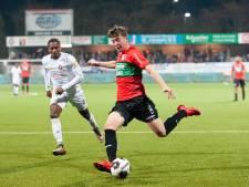 NEC'er Romeny baalt van gemiste kansen: 'Volgende week twee keer scoren'