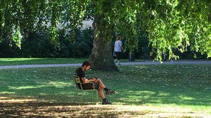 """""""Bruggelingen, zoek verkoeling in de parken"""""""