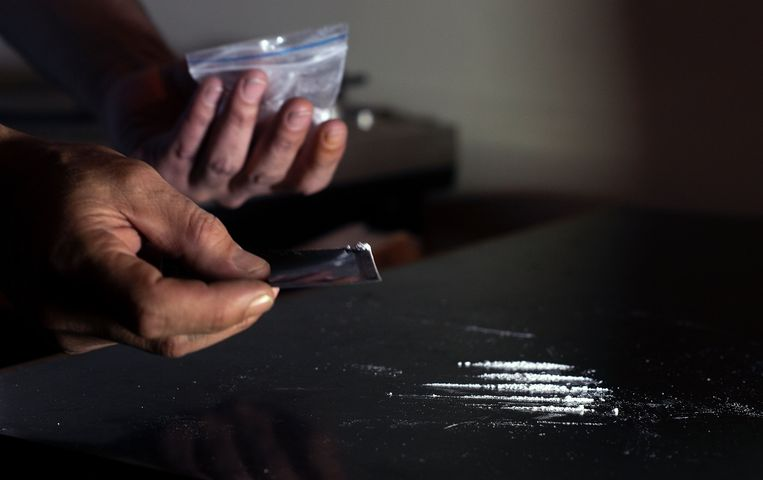 Cocaïne. Beeld AFP