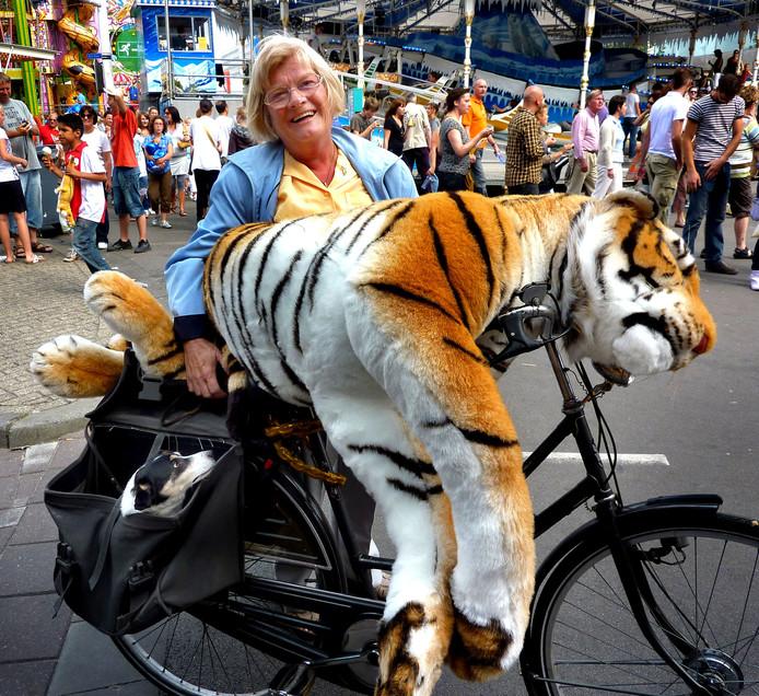 Foto ter illustratie. Dit is niet de gestolen tijgerknuffel.