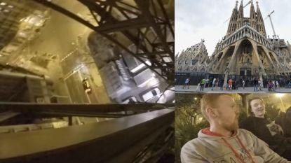 """""""Dit was mission impossible"""": waaghalzen beklimmen Sagrada Familia tijdens terreurniveau vier en verschalken bewaking"""