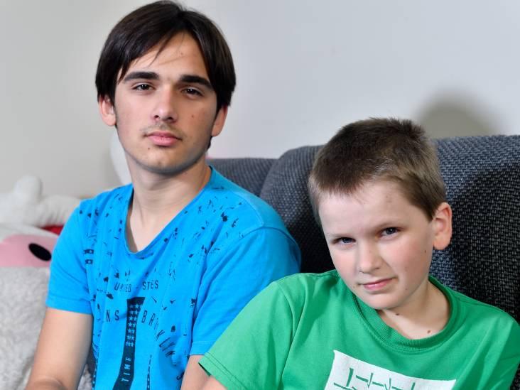 Maksim (14) en Denis (10) willen niet meer terug naar Oekraïne: 'Hier horen we thuis'