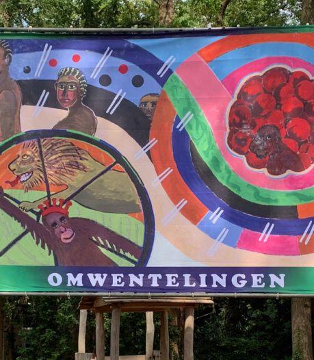 Nieuw kunstwerk in Van Heekpark Enschede: 'Omwentelingen, die laat ik zien'