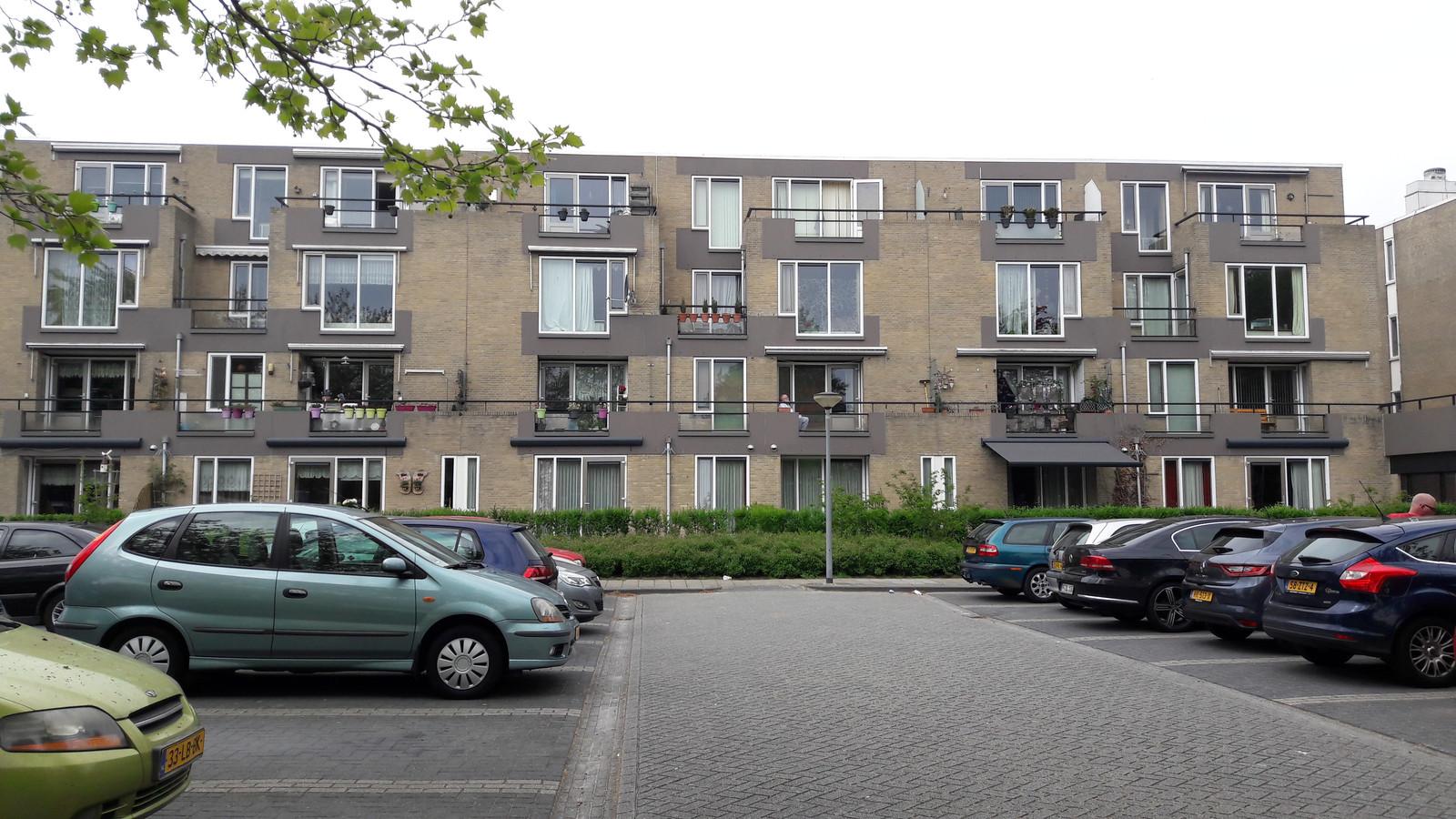 Apparmentencomplex Het Rode Klif in Lelystad.