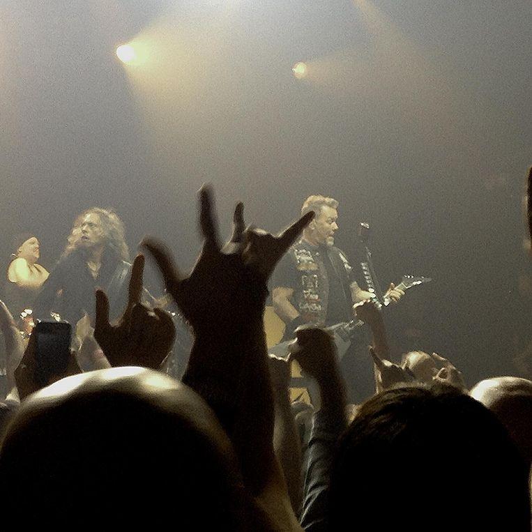 Metallica in New York. Beeld