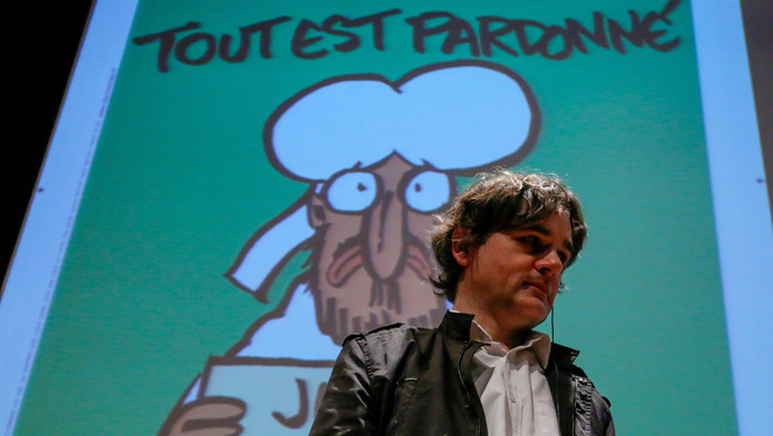 Directeur Laurent Sourisseau, beter bekend als cartoonist 'Riss'