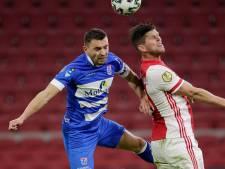 Van Polen (PEC Zwolle) zag Ajax al snel 2-0 maken: 'Toen dacht ik wel even aan VVV'
