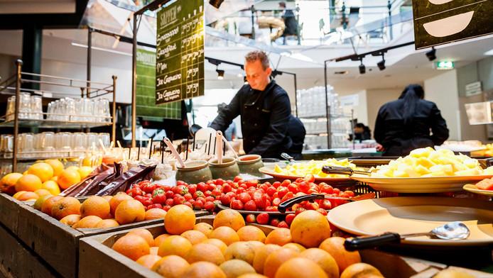 Het La Place-restaurant aan het Rokin in Amsterdam.