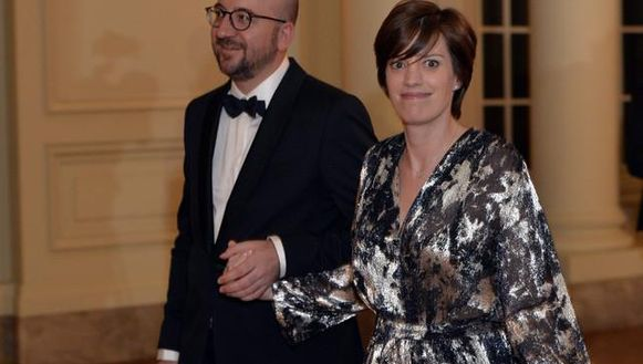 Premier Michel en zijn vrouw