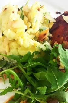 Recept van de dag: Rucolastamppot met slavinken