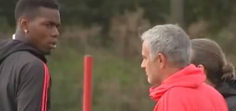 Relatie Pogba en Mourinho bereikt dieptepunt op training
