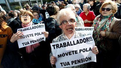 Boze gepensioneerden blokkeren Spaans parlement