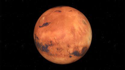 Mars heeft misschien veel minder water dan eerst gedacht