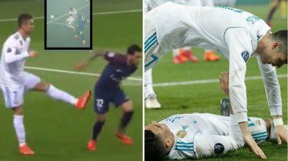 Ronaldo trapt na richting Dani Alves en viert excentriek, maar hij blijft vooral verbazen met zotte statistieken