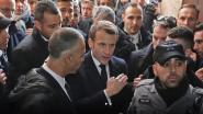 """""""Jullie kennen de regels ook"""": Macron maakt zich kwaad op Israëlische agenten omdat ze kerk niet willen verlaten"""