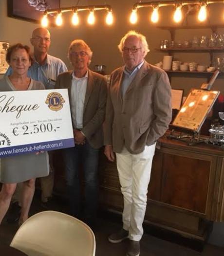Geld van Lions voor chocolaterie in Hellendoorn