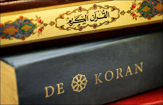 De rector zegt niet zijn persoonlijke mening te hebben gegeven, maar een 'uitleg van de Koran'.