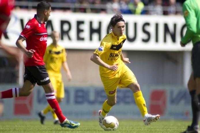 Steven Berghuis (hier nog in actie namens VVV) staat tegen PSV in de basis bij AZ. Archieffoto ANP