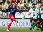 Dolberg blij met hattrick: 'Laatste goal was veel te lang geleden'