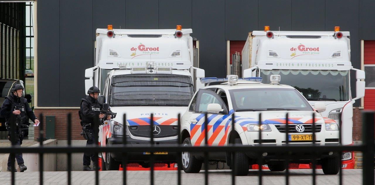 Afgelopen mei werd er nog drugs gevonden in een fruitcontainer bij De Groot.