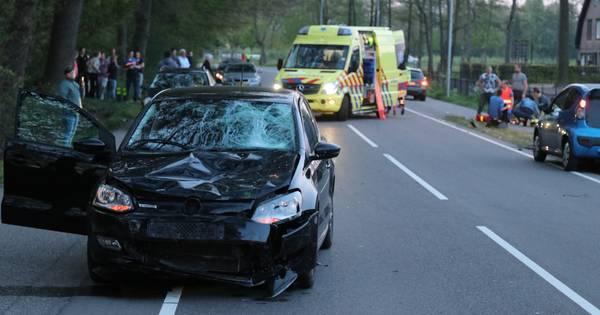 Twee motorrijders betrokken bij ongeluk tussen Heesch en Schaijk.