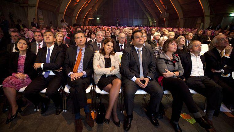 CDA-prominenten tijdens een congres in Utrecht. Beeld ANP