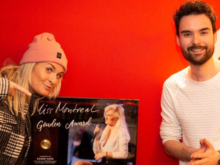 Miss Montreal ontvangt Gouden Award voor 'Door De Wind'