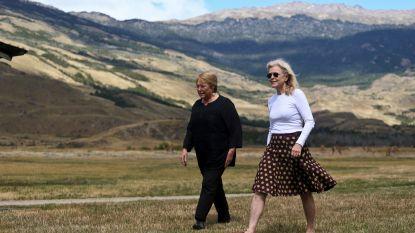 25 jaar lang kochten Kristine en haar man duizenden vierkante kilometers grond op in Patagonië, nu mag Chili er prachtige natuurparken van maken