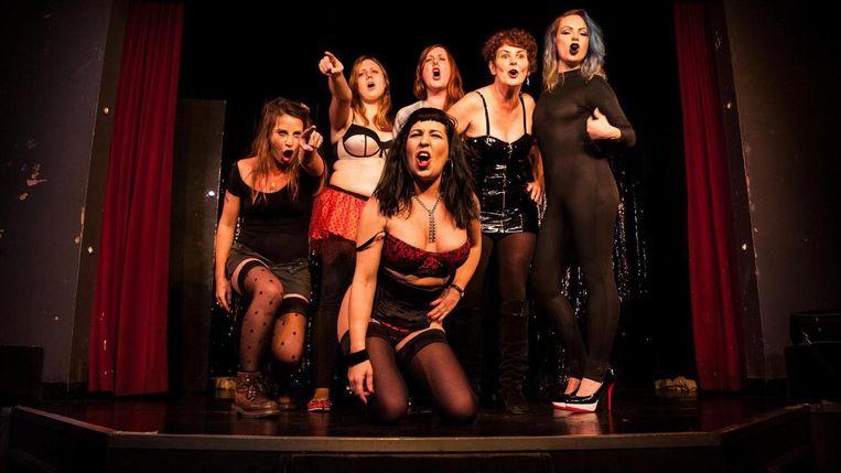 Sex Worker's Opera is voor het eerst buiten Groot-Brittannië te zien in aanloop naar de Pride. Beeld Manu Valcarce