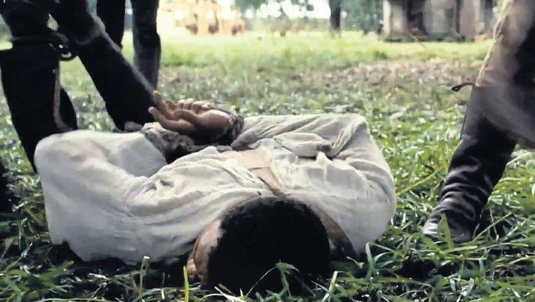 null Beeld Een beeld uit de film ¿12 Years a Slave¿ van Steve McQueen, die de gruwelijkheden van de slavernij in de Verenigde Staten onomwonden toont.