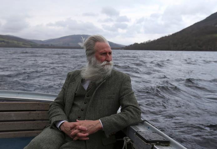 Onderzoeksleider Adrian Shine baalt dat Loch Ness nog niet opgespoord is.