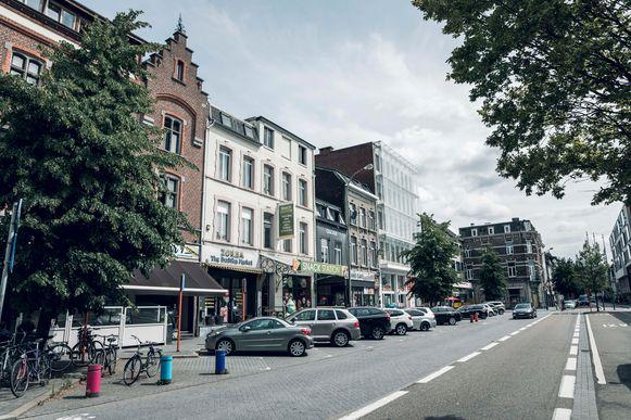 De buurt rond het station in Hasselt.