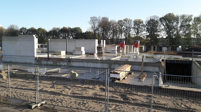 Project Ronduit Utrecht in Leidsche Rijn ligt stil door faillisement aannemer.