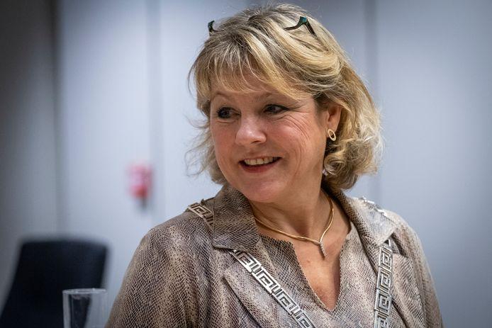 Burgemeester Tanja Haseloop-Amsing van Oldebroek.