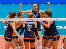 Volleybalsters staan voor loodzware missie op weg naar olympische droom