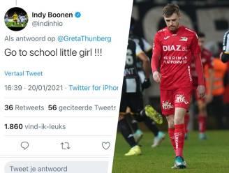 """KV Oostende-speler krijgt Twitter over zich heen na kritiek op Greta Thunberg: """"Ga naar school, klein meisje"""""""
