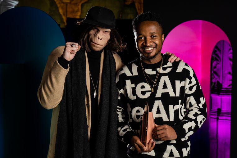 Kid Noize (links) en Bertony Da Silva (rechts).