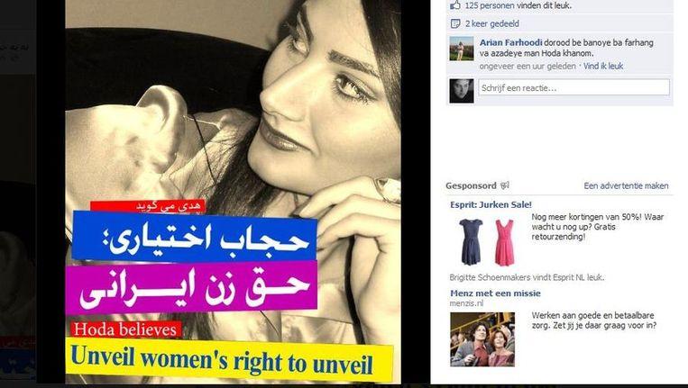 Screenshot van een foto op de bewuste Facebookpagina Beeld