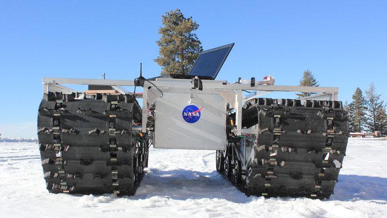 Grover, het nieuwste wetenschappelijke onderzoeksvaartuig van NASA. Beeld NASA