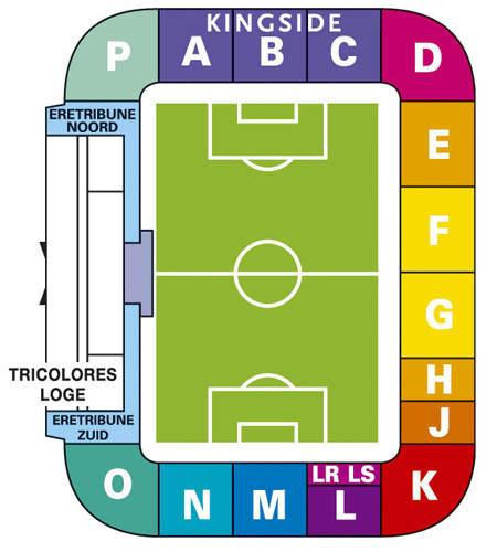 Afbeeldingsresultaat voor stadion plattegrond koning willem ii stadion
